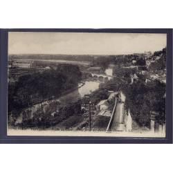 86 - Poitiers -  Vallée du Clain - vue prise des jardins de Blossac - Non v