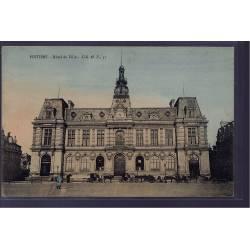 86 - Poitiers -  Hôtel de Ville - Non voyagé - Dos divisé