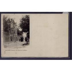 86 - Poitiers - Le boulevard Solférino - Voyagé - Dos non divisé