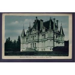 86 - Bonneuil-Matours - le château de Marie-Ville - Non voyagé - Dos divisé
