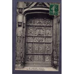 87 - Limoges - Sculptures du portail central de la Cathédrale - Voyagé - Do