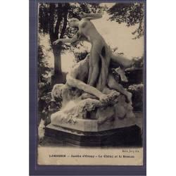 87 - Limoges - Jardins d' Orsay - le Chêne et le Roseau - Voyagé - Dos divi