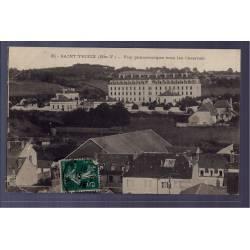 87 - Saint-Yrieix - vue panoramique vers les casernes - Voyagé - Dos divisé