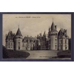 87 - Environs de Limoges - Château de Bort - Voyagé - Dos divisé