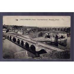 87 - L' isle-Jourdain - Pont St-Sylvain - Minoterie - Viaduc - Voyagé - Dos