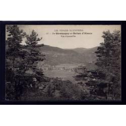 90 - De Giromagny au Ballon d' Alsace - vue d'ensemble - Voyagé - Dos divis