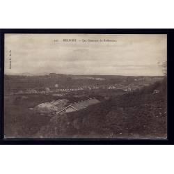 90 - Belfort - les casernes de Rethenans - Voyagé - Dos divisé