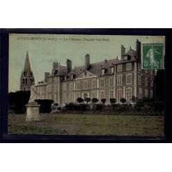 91 - Athis-Mons - le château - façade Sud-Est - Voyagé - Dos divisé