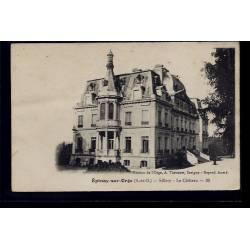 91 - Epinay-sur-Orge - Sillery - le château - Non voyagé - Dos divisé
