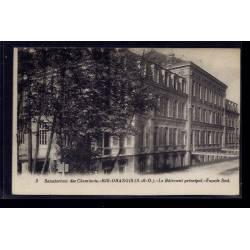 91 - Ris-Orangis - Sanatorium des cheminots - le bâtiment principal - façad