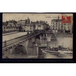 91 - Corbeil - Le Pont - Voyagé - Dos divisé