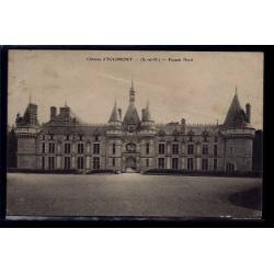91 - Eclimont - le château façade Nord - Voyagé - Dos divisé