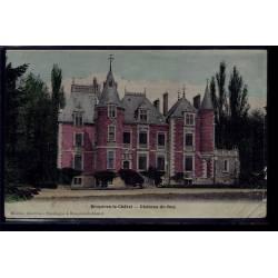 91 - Bruyères-le-Châtel - château de rué - Voyagé - Dos divisé