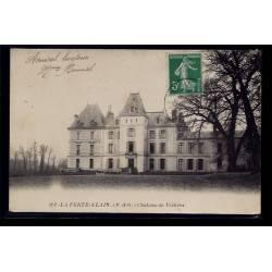 91 - La Ferté-Alais - château de Villiers - Voyagé - Dos divisé