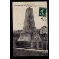 92 - Châtillon - Monument élevé à la mémoire des défenseurs de Paris en 187