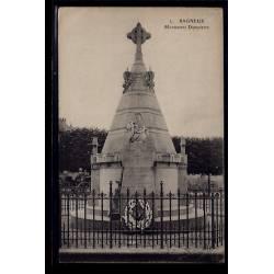 92 - Bagneux - Monument Dampierre - Voyagé - Dos divisé