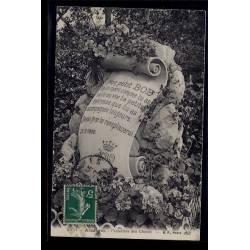 92 - Asnières - cimetière des chiens - Voyagé - Dos divisé