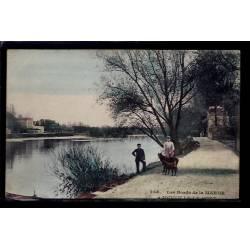 94 - Joinville-le-Pont - les bords de la Marne - Voyagé - Dos divisé