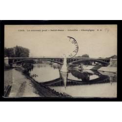 94 - St-Maur - Joinville - Champigny - Le nouveau pont - Voyagé - Dos divis