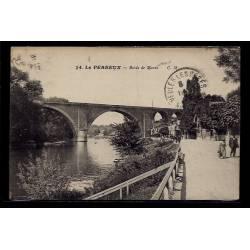 94 - Le Perreux - bords de Marne - Voyagé - Dos divisé