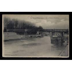 94 - Charenton - La Marne - Voyagé - Dos divisé