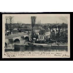94 - Joinvill-le-Pont - Le tour de Marne - Voyagé - Dos non divisé