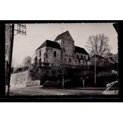 95 - Vallangoujard - l' église - Voyagé - Dos divisé