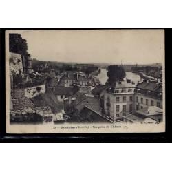 95 - Pontoise - Vue prise du château - Non voyagé - Dos divisé