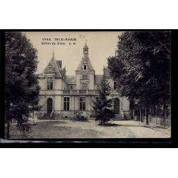 95 - L' Isle-Adam - Hôtel de Ville - Non voyagé - Dos divisé
