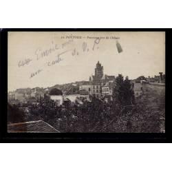 95 - Pontoise - panorama pris du château - Voyagé - Dos divisé