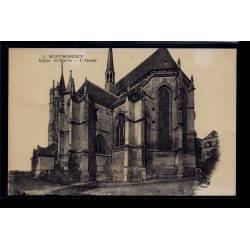 95 - Montmorency - Eglise St-Martin - l' Abside - Non voyagé - Dos divisé
