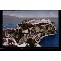 Principauté de Monaco - le rocher - Non voyagé - Dos divisé