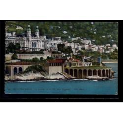 Monaco - Monté-Carlo - le casino et le tir aux pigeons - Non voyagé - Dos d