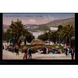 Monaco - Monté-Carlo - le Boulingrin - Non voyagé - Dos divisé