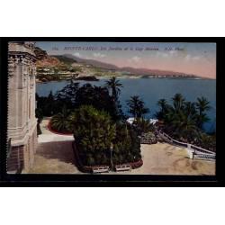 Monaco - Monté-Carlo - les  jardins et le Cap Martin - Non voyagé - Dos div
