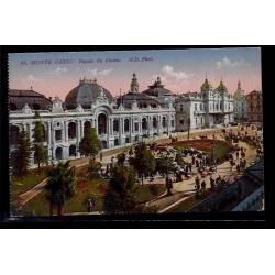 Monaco - Monté-Carlo - façade du casino - Non voyagé - Dos divisé