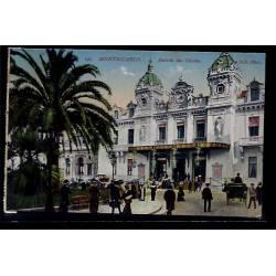 Monaco - Monté-Carlo - Entrée du casino - Non voyagé - Dos divisé