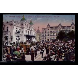 Monaco - Monté-Carlo - le casino et le nouvel Hôtel de Paris - Non voyagé -