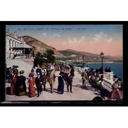 Monaco - Monté-Carlo - les terrasses du casino - Non voyagé - Dos divisé