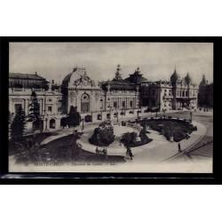 Monaco - Monté-Carlo - ensemble du casino - Non voyagé - Dos divisé