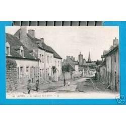 71 - AUTUN - LE FAUBOURG St BLAISE - ANIMEE