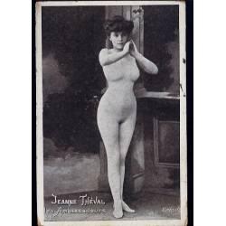 Nu artistique - Jeanne Théval des Ambassadeurs