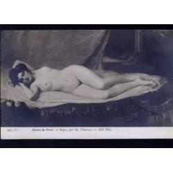 Nu artistique - Le repos par Thomson
