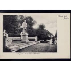 Allemagne - Gruss aus Berlin - Siegesallee - Denkmal Kaiser Wilhem I