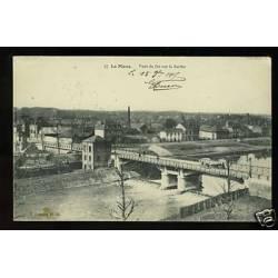 72 - Le Mans - Pont de fer sur la Sarthe