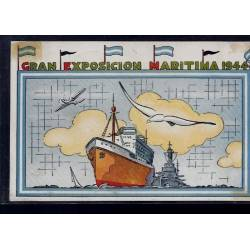 Argentine - Gran Exposicion Maritima 1944 - Oblitération de l'exposition
