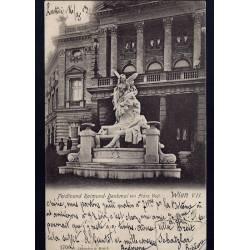 Autriche - Wien - Ferdinand Raimund-Denkmal von Franz Vogl.
