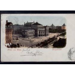 Autriche - Gruss aus Wien - Burgtheater